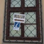 博物館が入っている建物の周囲は8月末現在工事中でした!