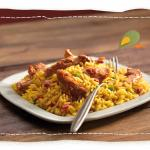 Nando's Chicken Strips and Spicy Rice
