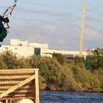 Many styles of kiteboarding