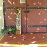 Entry doors to the Tasting Room