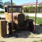 1930s-era flatbed truck