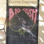 Big Crush the weekend of October 3rd and 4th