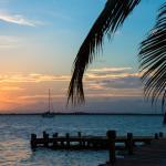 Sunset on the island
