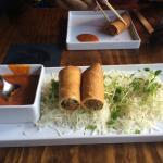Yummy spring rolls!