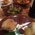 Yalla Yalla Meze kok och bar Foto