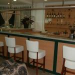 Lobby bar at Hotel Gorske Oci, Zabljak, Montenegro
