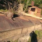 Gravel Barge along Al Foster Trail