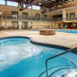 Our huge pool and whirlpool area is perfect for some weekend fun.