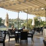 La terrasse du club House