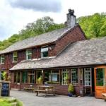 Front of YHA Borrowdale
