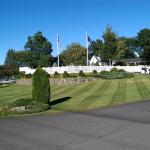 Well maintained grounds