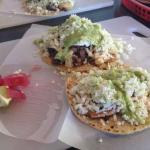 Pouched and Salmon tacos