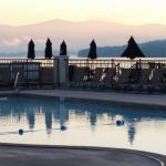 Pool, lake mountains view!