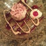 Red velvet cake dessert