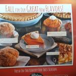 Fall treats at Perkins!