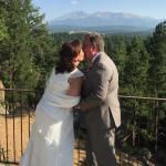 Wedding at Pike's Peak Paradise 8/29/15