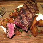 """The steak was perfect. Presentation is perfect. A """"must go"""" in Carmel."""