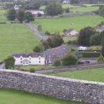 Cashel Lodge from the Rock of Cashel