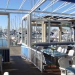 People-watch, at harborside deck!
