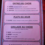 Un menu très compétitif