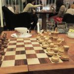 Game time over English teas