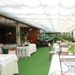 Terraza restaurante Jolastoki en Getxo