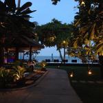 Restaurant mit Blick zum Strand