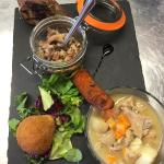 Some of our delicious meals from the main menu and our ever changing specials (starters/mains/de