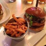 Big Al's burger!! It's delicious!!