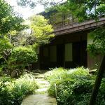 庭園からの屋敷