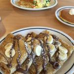 Nutella crepes and the Tuscon eggs