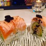 Salmon Lover sushi roll
