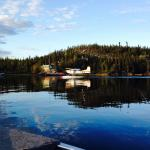 float plane and lodge