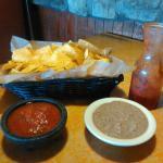 Chips and dips at Viva Las Bamba, Urbandale