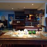 salle à manger/ le bar