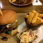mountain welsh lamb burger