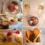Repas au Restaurant des Vosges