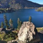 A Mountain Lake Hike from the Lodge