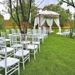 Jardín de eventos aire libre