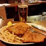 This is the Kinder (Small) Schnitzel