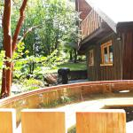 Hotel y Cabañas Salto del Carileufu Cabaña superior rio con tina caliente