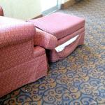 Furniture in the common area