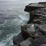 Walk from suites to western cliffs overlooking Atlantic