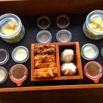 Breakfast tray delivered each morning to your suite