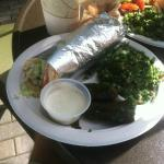 Chicken Gyro with Tabouli