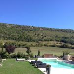 A view of the hills behind Mon Ventoux