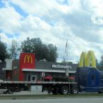 McDonald's, Revelstoke, Kootenay Rockies, BC