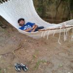 relaxing..