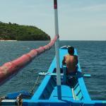 sur le bateau de plongée