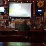 One of five tvs behind the bar, see them all if you sit along the wall...there are several other